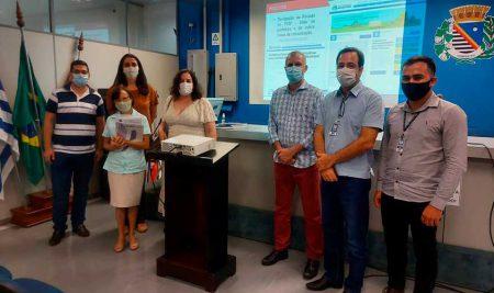 Prefeitura de Araçatuba recebe resultados parciais dos serviços de geoprocessamento